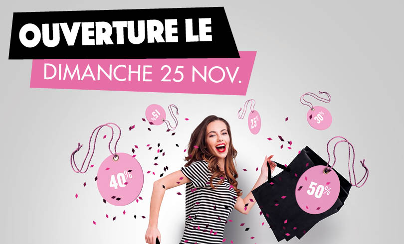 ouverture Black Friday