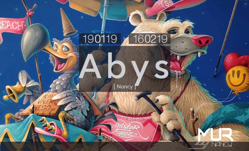 LE MUR NANCY : ABYS