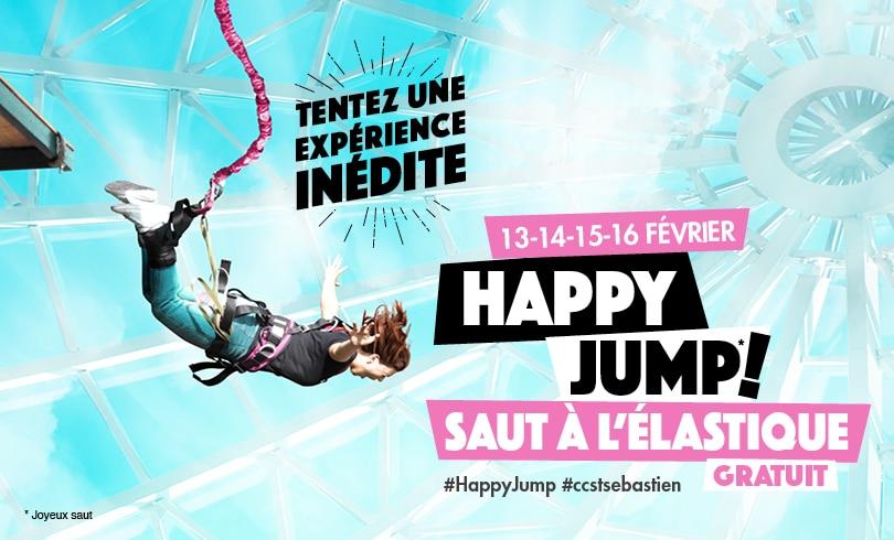 Happy Jump : Un saut à l'élastique !