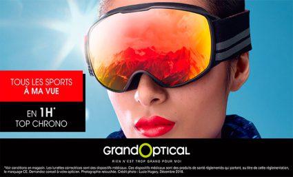 GrandOptical : Offre Sport à la vue ! - Saint-Sebastien Nancy