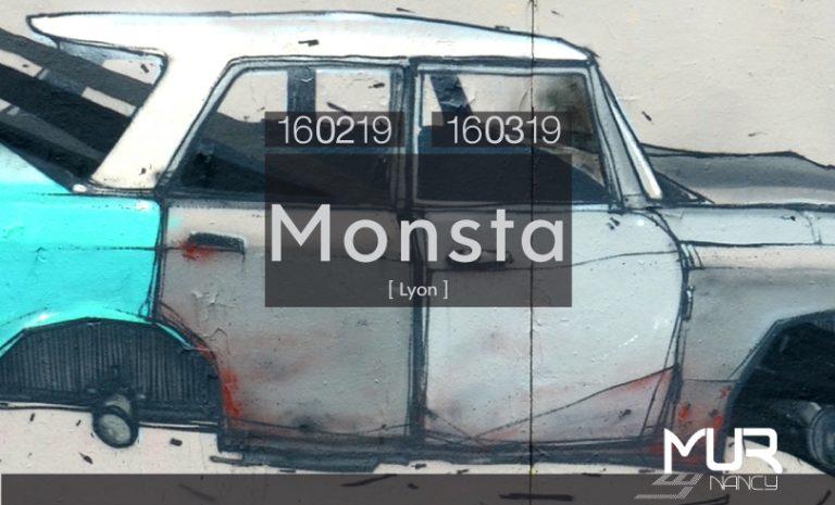 LE MUR NANCY : MONSTA