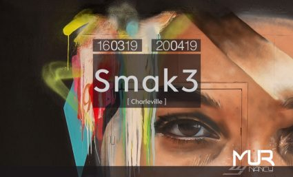 LE MUR NANCY : SMAK3 - Saint-Sebastien Nancy
