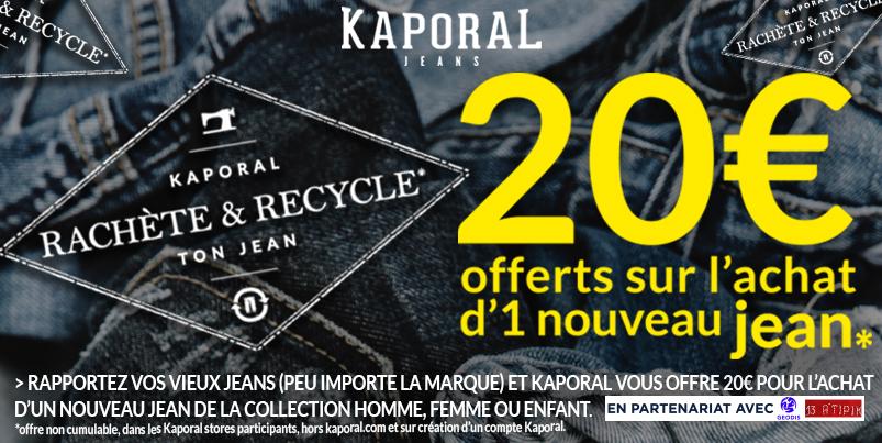 Kaporal rachète et recycle ton jean