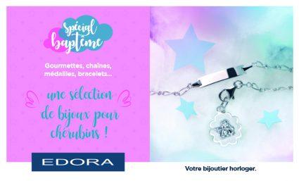 Edora : Collection spécial baptême - Saint-Sebastien Nancy