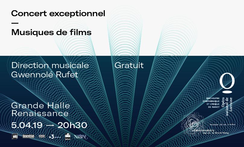JEU CONCOURS OPÉRA – MUSIQUES DE FILMS
