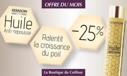 La boutique du coiffeur : l'offre du mois - Saint-Sebastien Nancy
