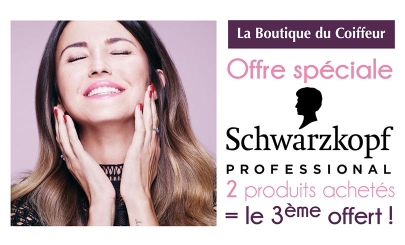 La Boutique du Coiffeur, Schwarzkopf : 2=3