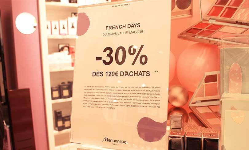 -30% chez Marionnaud