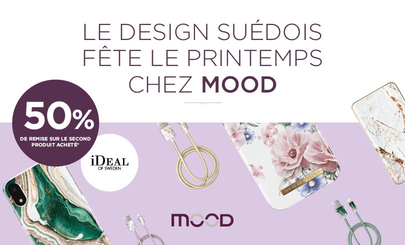 Le design suédois fête le printemps chez Mood !