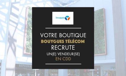 Bouygues recrute un(e) vendeu(se) - Saint-Sebastien Nancy