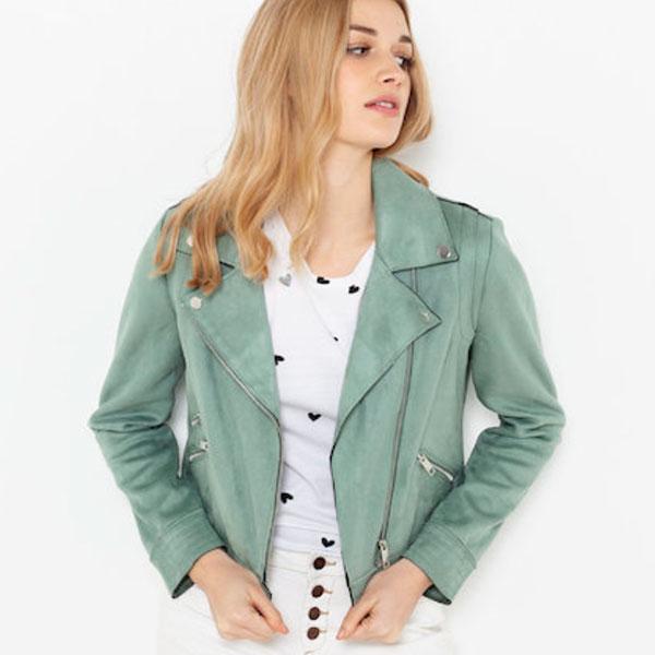 manteau camaieu vert pastel