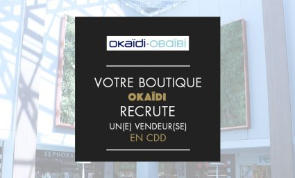 Okaïdi recrute un(e) vendeur(se) - Saint-Sebastien Nancy