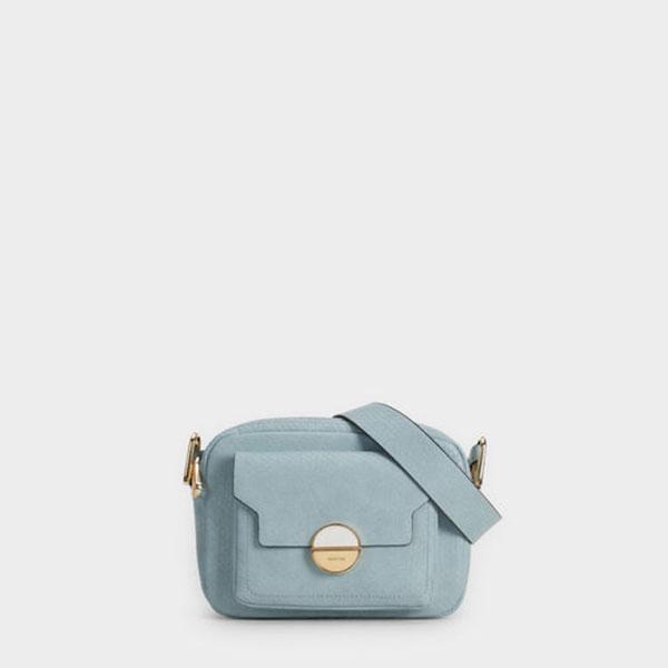 sac parfois bleu pastel