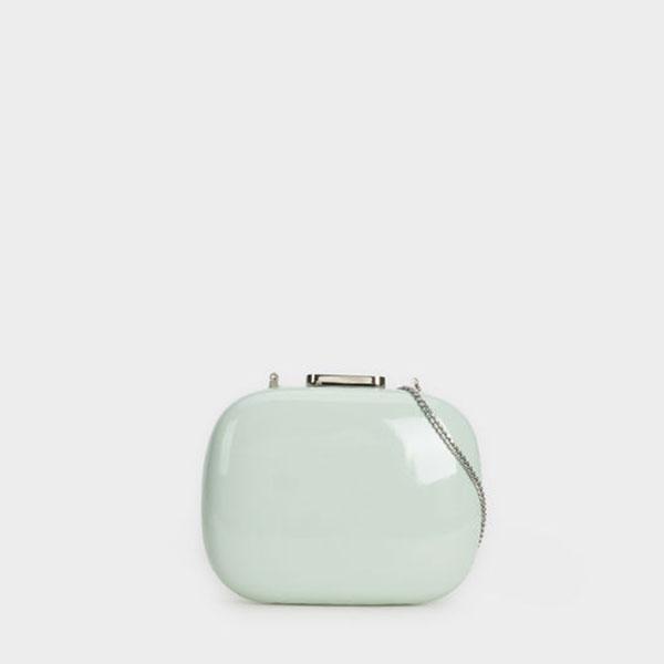 sac parfois vert pastel