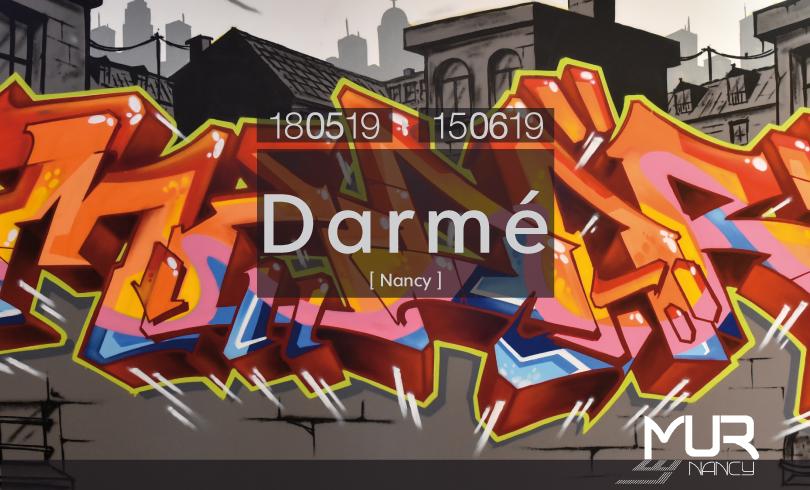 Le Mur Nancy : Darmé