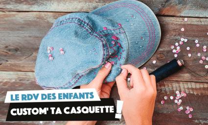 RDV des Enfants : Custom' Casquette ! - Saint-Sebastien Nancy