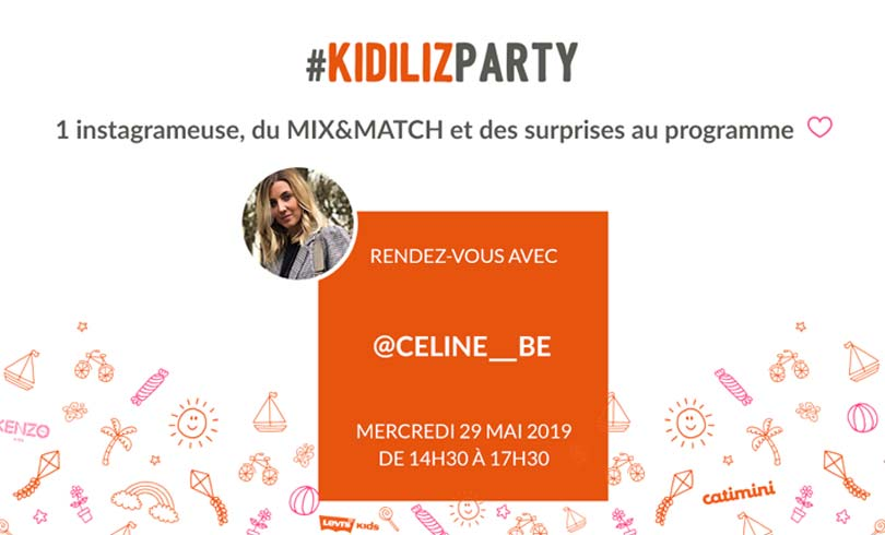 Kidiliz : Rencontre avec Celine_Be