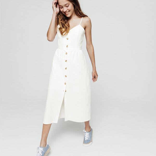 robe blanche bizzbee Lisa