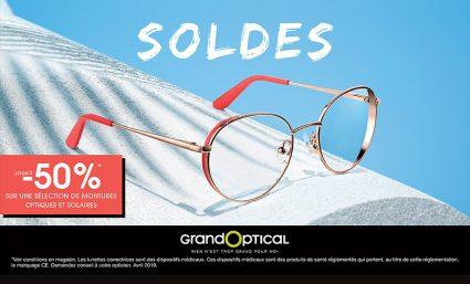 Chez Grand Optical, c'est bientôt les soldes ! - Saint-Sebastien Nancy