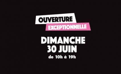 Soldes : Ouverture exceptionnelle ! - Saint-Sebastien Nancy
