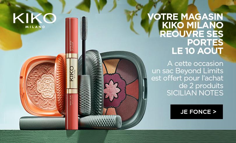 Le magasin Kiko Milano se refait une beauté