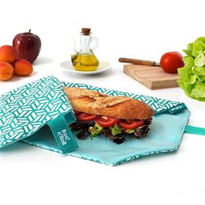 Pochon sandwish déchet au travail
