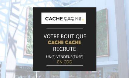 Cache Cache recrute - Saint-Sebastien Nancy