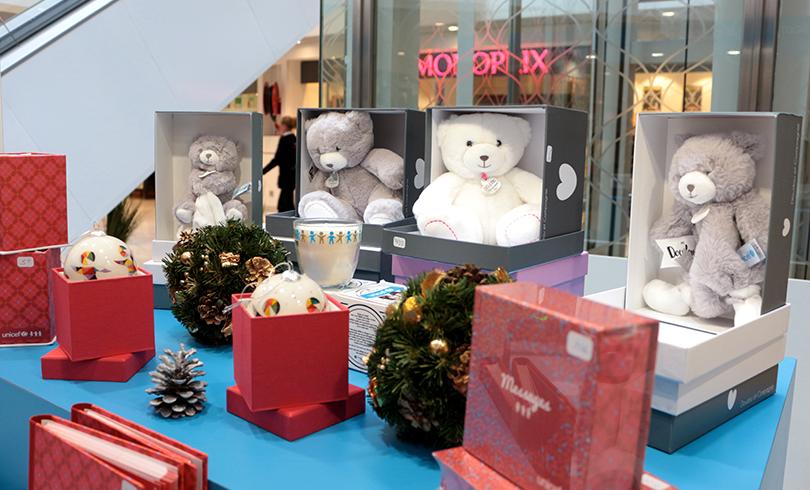 Les cadeaux de fin d'année avec l'UNICEF