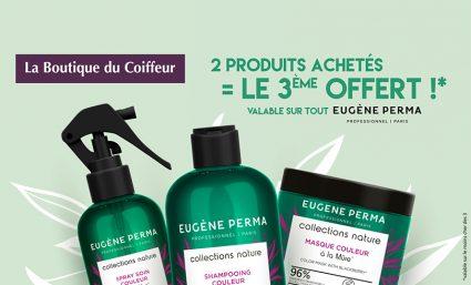 Eugène Perma – 2 produits achetés = le 3ème OFFERT - Saint-Sebastien Nancy