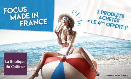 Focus Made In France – 3 produits achetés = le 4ème OFFERT - Saint-Sebastien Nancy