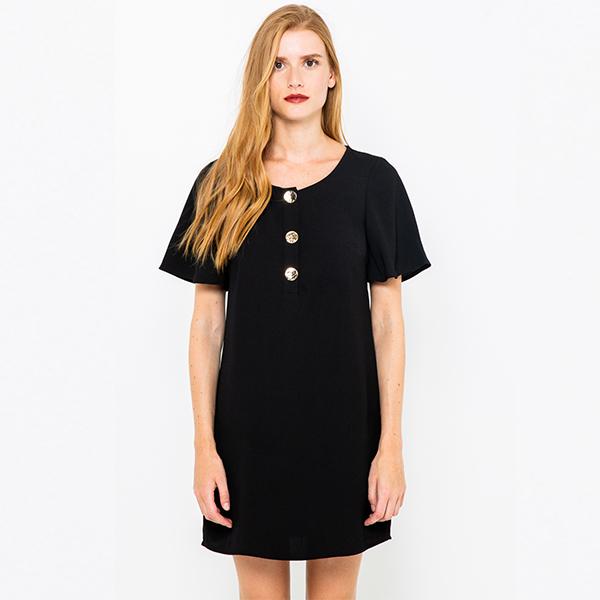 petite robe noire camaieu
