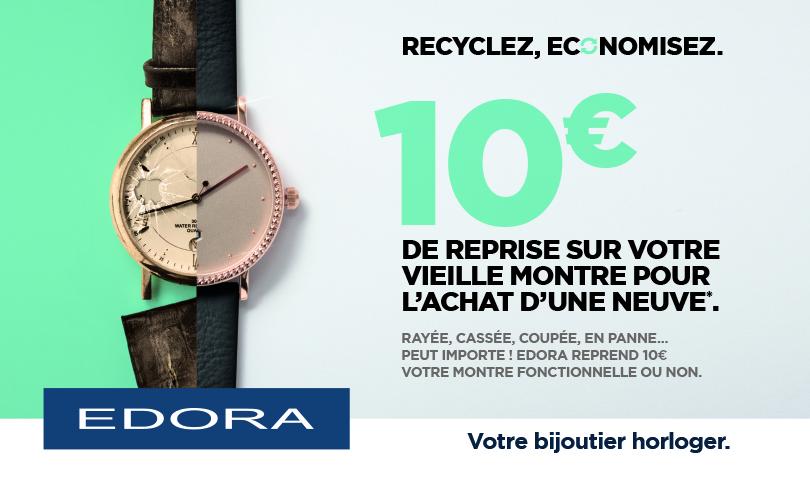 On recycle et on économise chez Edora