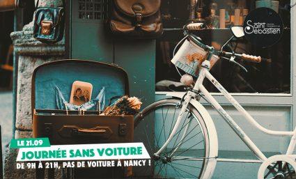 Journée sans voiture – 2ème édition - Saint-Sebastien Nancy