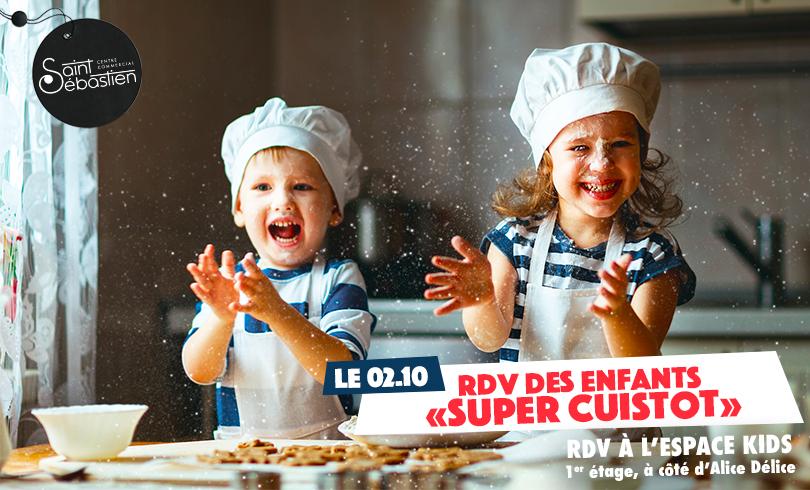 RDV Des enfants «Super Cuistot»