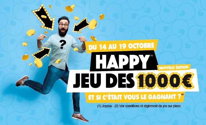 Jeu des 1000 euros : nouvelle édition