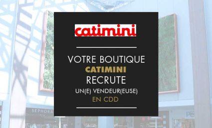 Catimini recrute un(e) vendeur(euse) - Saint-Sebastien Nancy