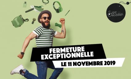 Fermeture du 11 novembre - Saint-Sebastien Nancy