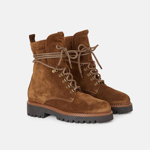 Boots plates minelli