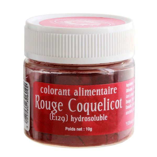colorant coquelicot Halloween Alice délice