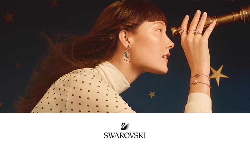 Découvrez la nouvelle collection Swarovski : Moon & Star