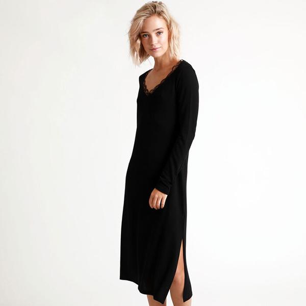 Robe longue dentelle pimkie
