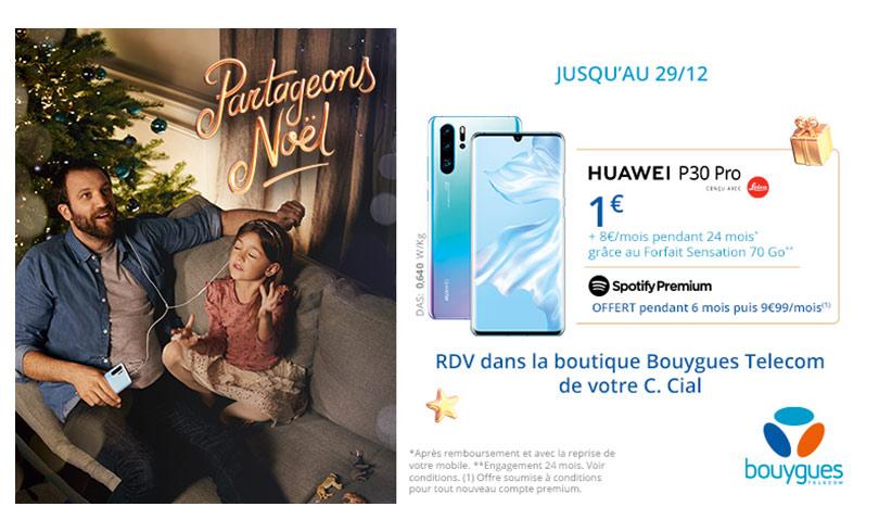 Huawei P30 Pro à 1€