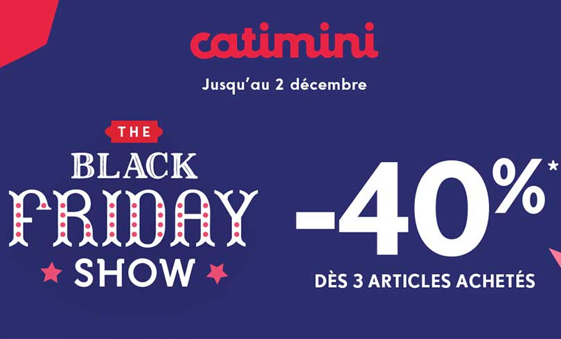 #BLACKFRIDAY chez Catimini