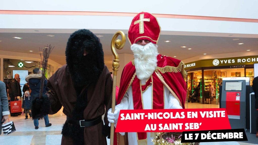 Rencontrez Saint-Nicolas au Saint Seb'