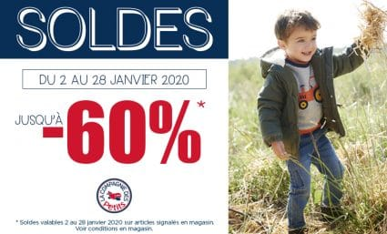 #Soldes La Compagnie des Petits - Saint-Sebastien Nancy