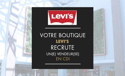 Votre boutique Levi's recrute ! - Saint-Sebastien Nancy