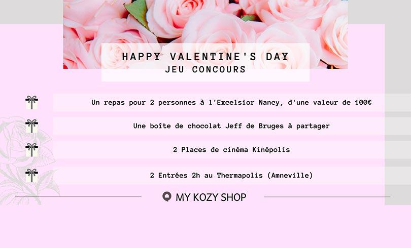 Jeu concours My Kozy Shop