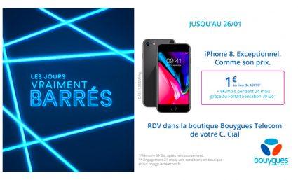 Votre iPhone 8 à 1€ - Saint-Sebastien Nancy