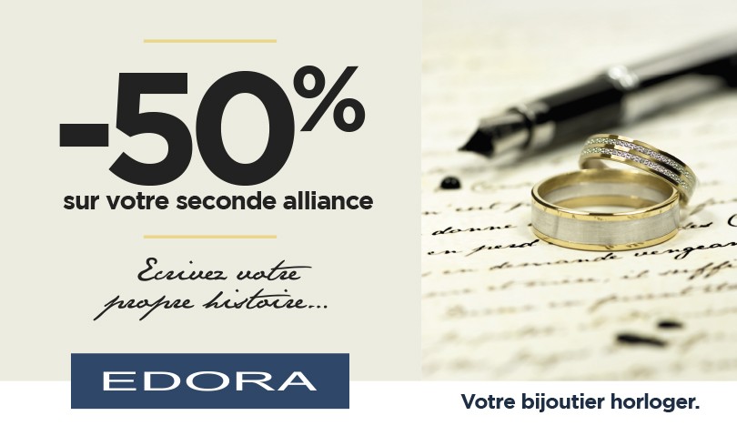 La 2ème alliance à -50%