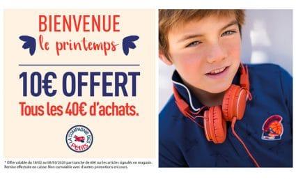 10 offerts chez La Compagnie des Petits - Saint-Sebastien Nancy